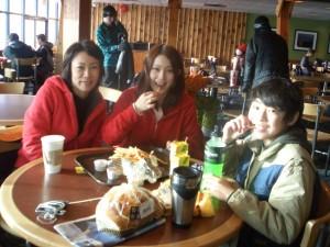 親子でスキー留学♪ (2)