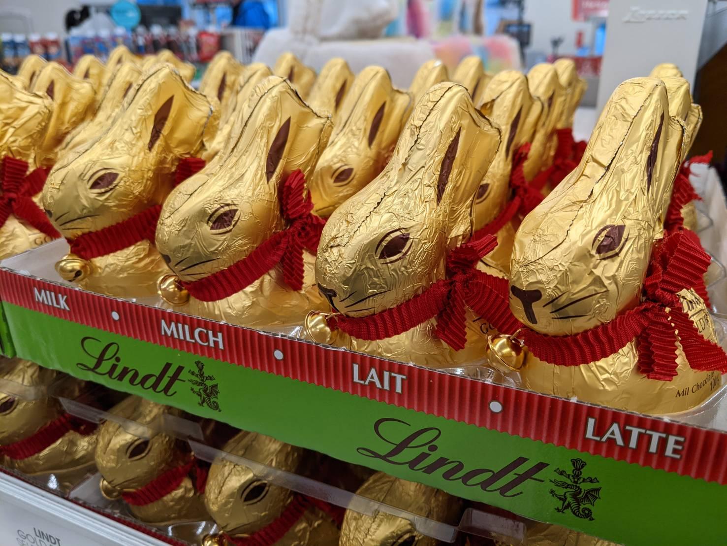 イースター☆可愛いチョコレート発見